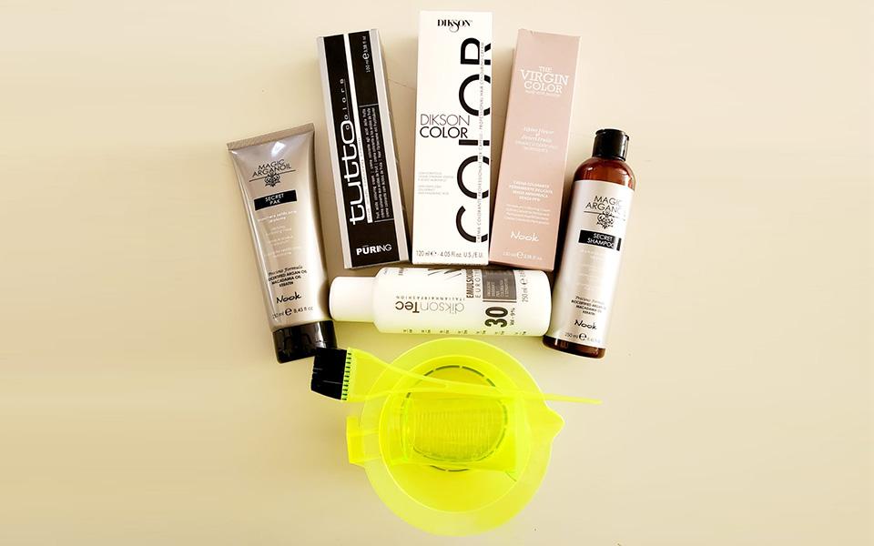 Kit Colorazione per capelli