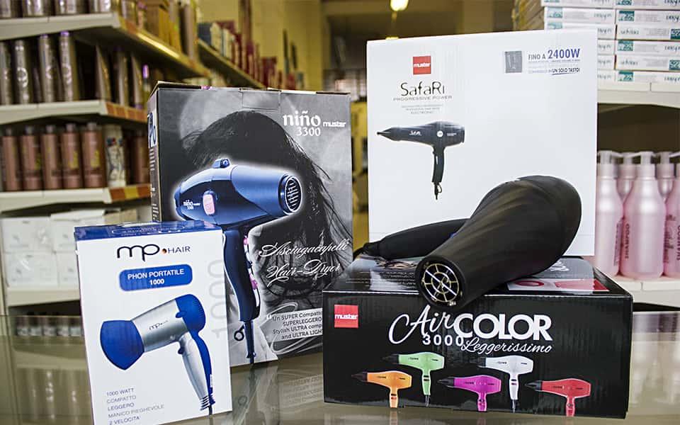 phon e diffusori per capelli professionali