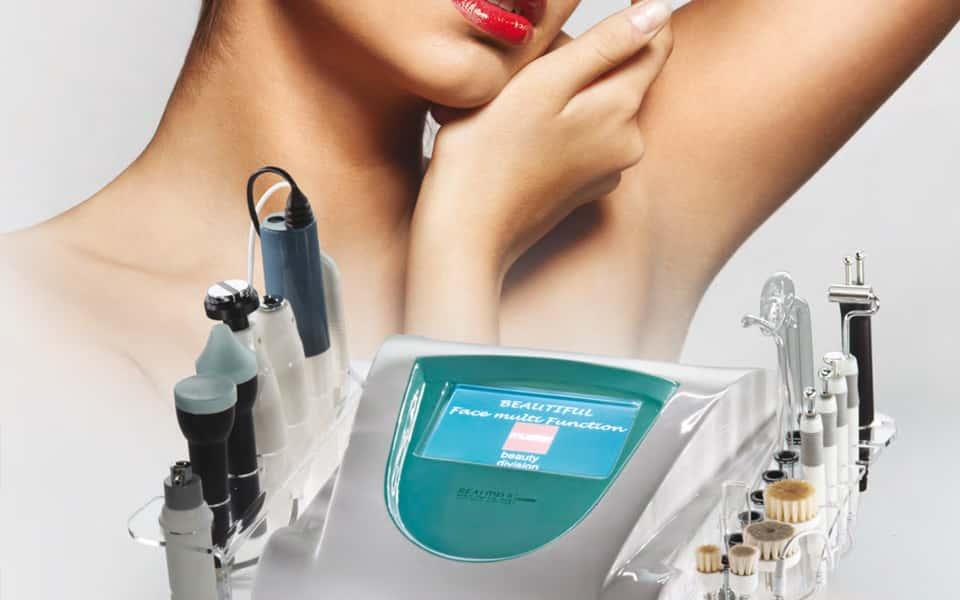 macchinari da estetisti per viso e corpo